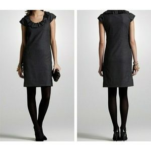 "J.Crew ""ribbon ravine"" wool dress"